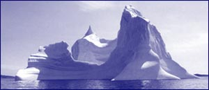 Iceberg in Conception Bay